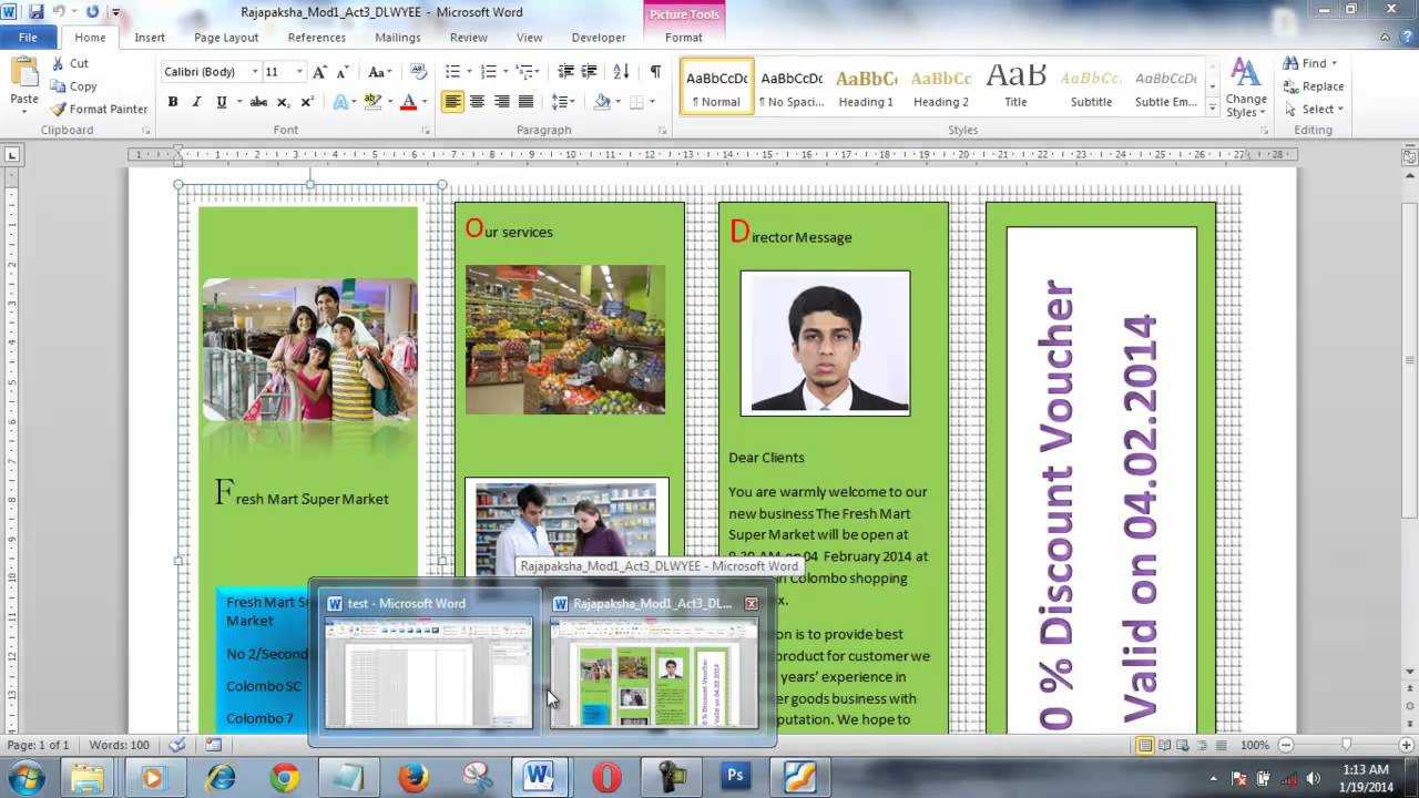 How To Create Brochure Using Microsoft Word Within Few Minutes In Brochure Templates For Word 2007