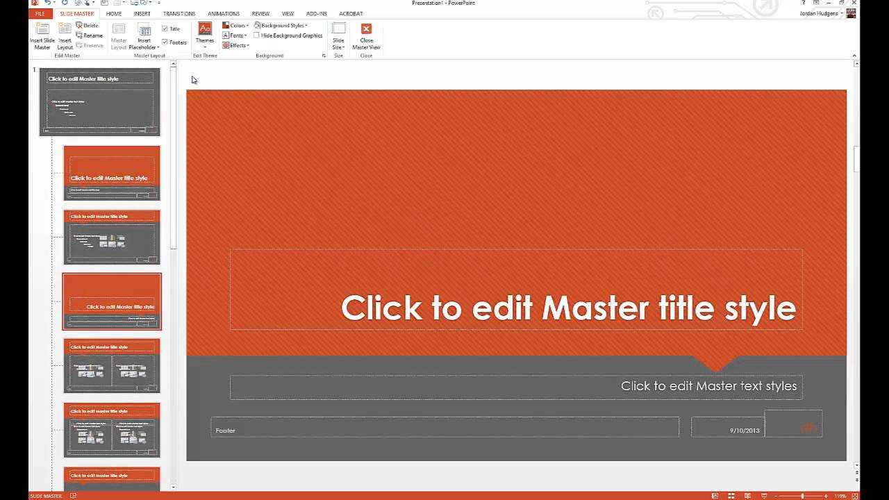 How To Customize Powerpoint Templates For How To Edit A Powerpoint Template