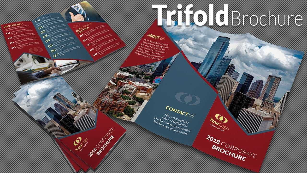 How To Design A Trifold Brochure In Adobe Illustrator Cc 2020 Inside Adobe Illustrator Tri Fold Brochure Template