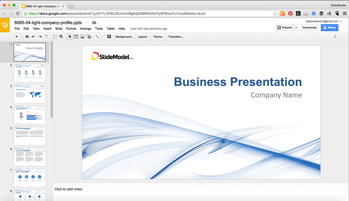 How To Edit Powerpoint Templates In Google Slides - Slidemodel For How To Edit Powerpoint Template