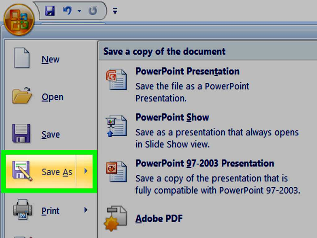 How To Make A Powerpoint Template: 12 Steps (With Pictures) In How To Save A Powerpoint Template