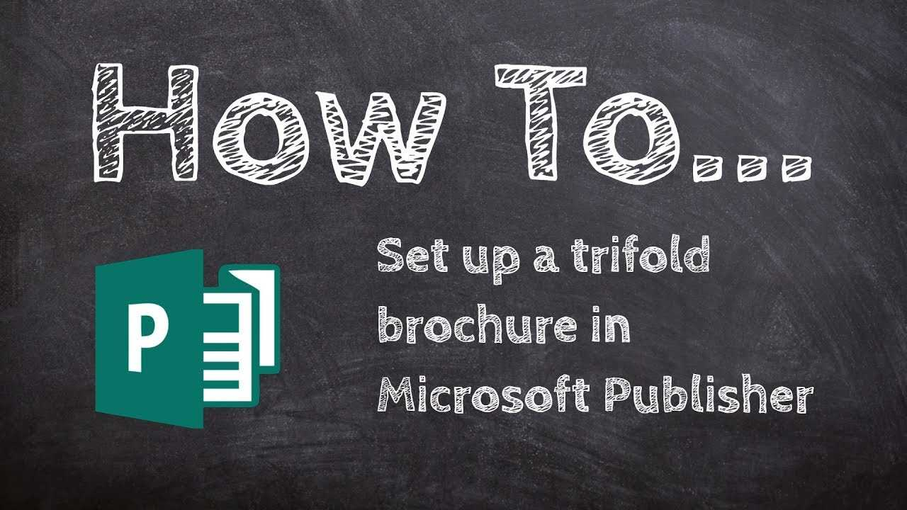How To Make A Trifold Brochure In Microsoft Publisher Regarding Tri Fold Brochure Publisher Template
