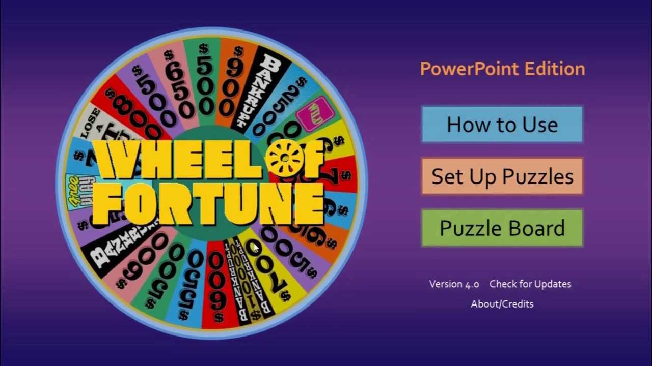 How To Make A Wheel Of Fortune Game On Powerpoint - Xtos Pertaining To Wheel Of Fortune Powerpoint Template