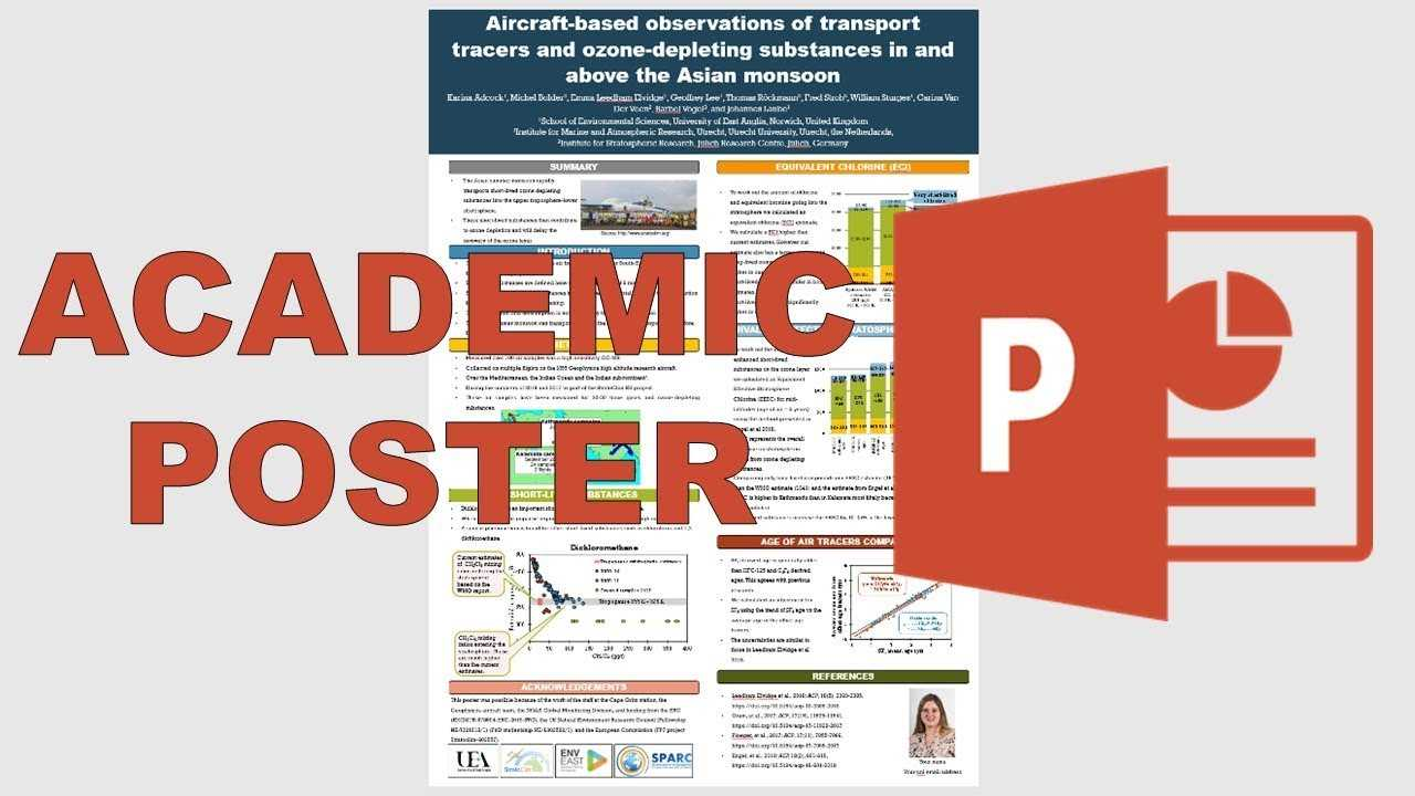 How To Make An Academic Poster In Powerpoint Regarding Powerpoint Academic Poster Template