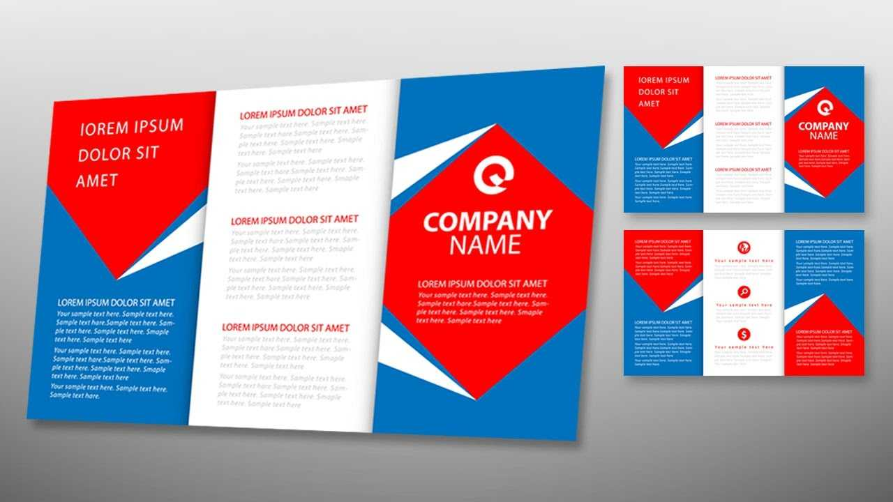 Illustrator Tutorial - Tri Fold Brochure Design Template Inside Tri Fold Brochure Ai Template