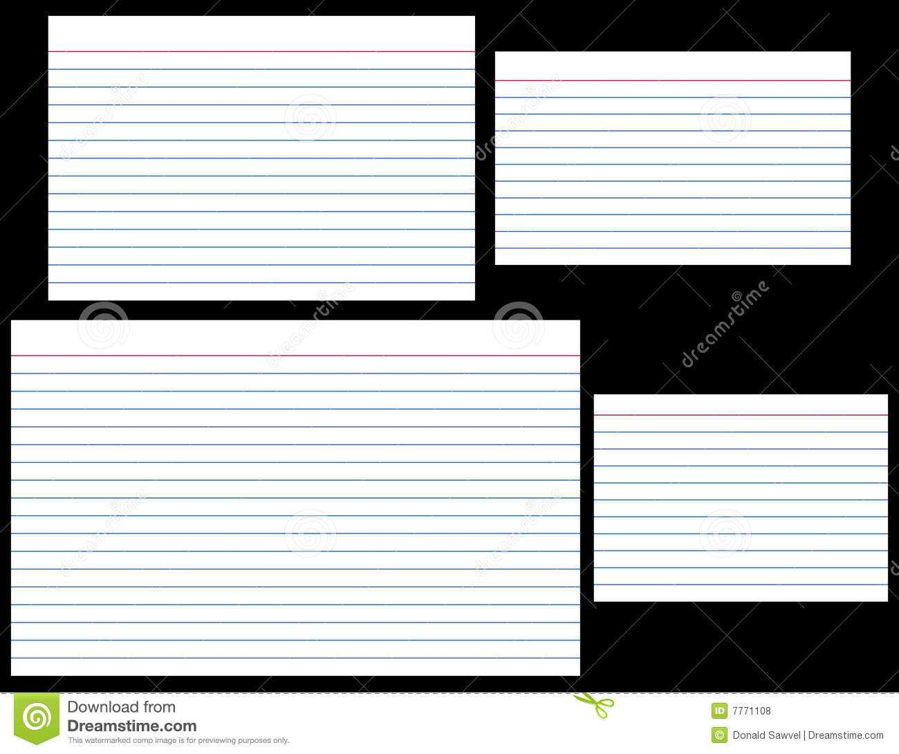Index Card Size Template - Karan.ald2014 Pertaining To 4X6 Note Card Template Word