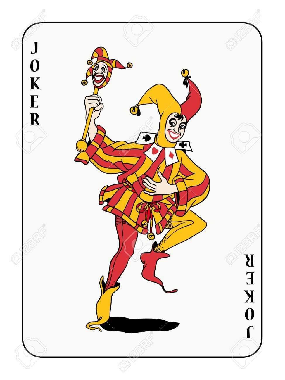 Joker Playing Card Regarding Joker Card Template