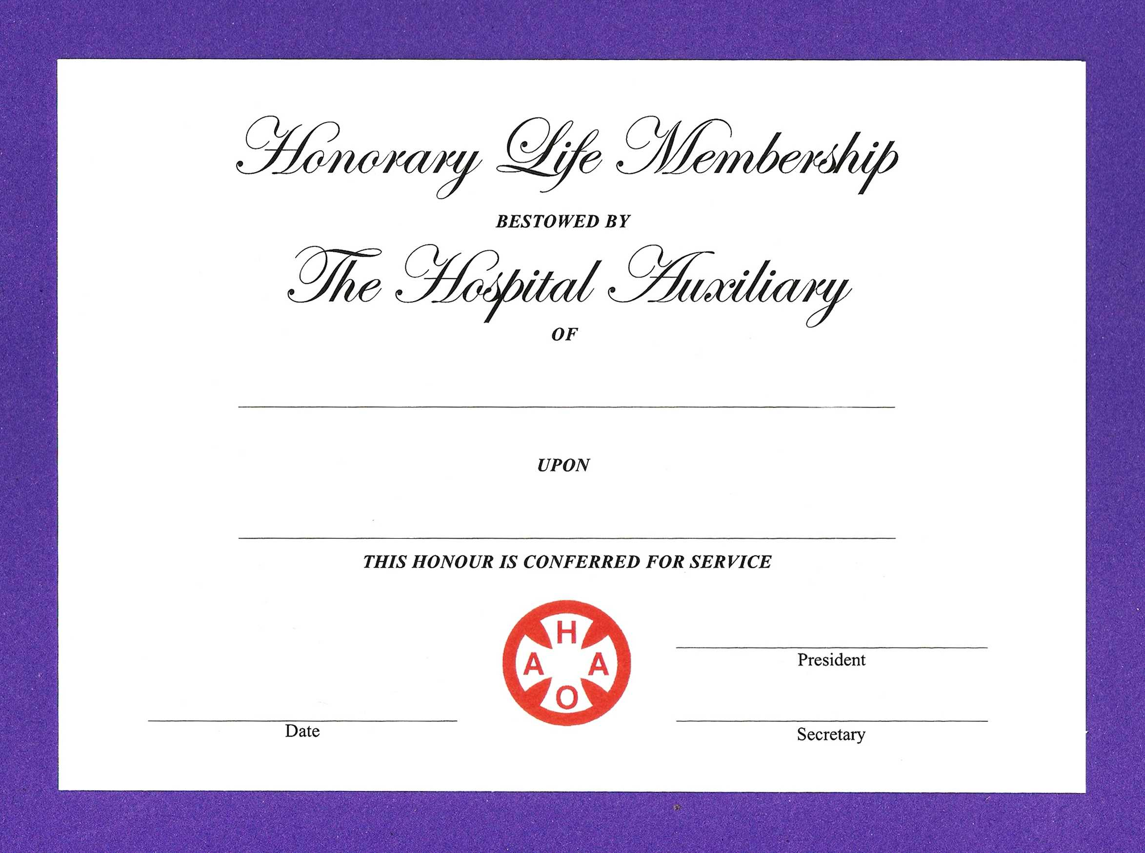 Life Membership Certificate Templates - Karan.ald2014 Throughout Life Membership Certificate Templates