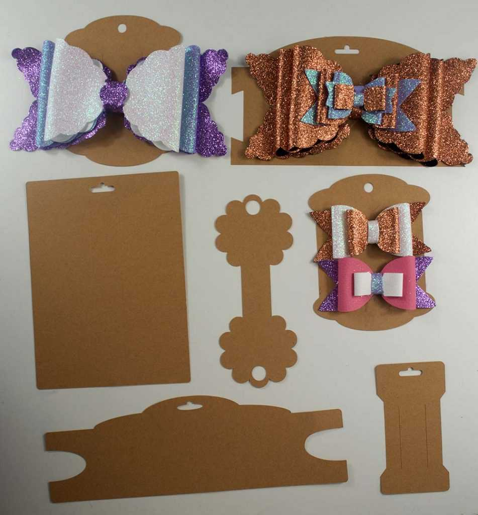 Making Bow And Headband Display Cards On The Cricut – Svg Inside Headband Card Template