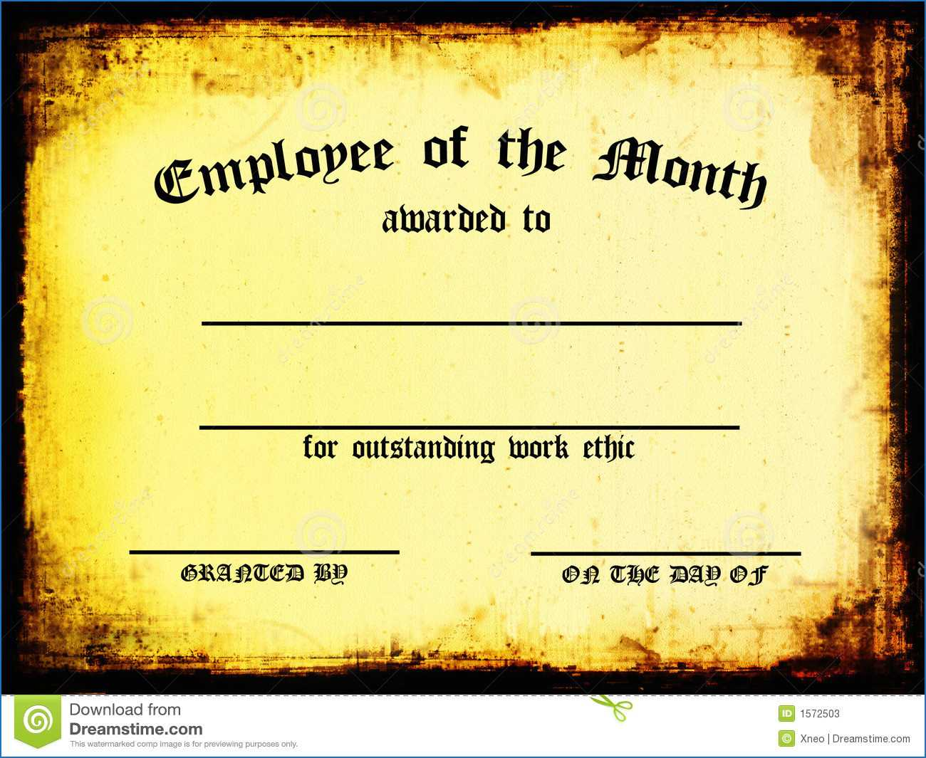 Manager Of The Month Certificate Template - Karan.ald2014 With Regard To Manager Of The Month Certificate Template