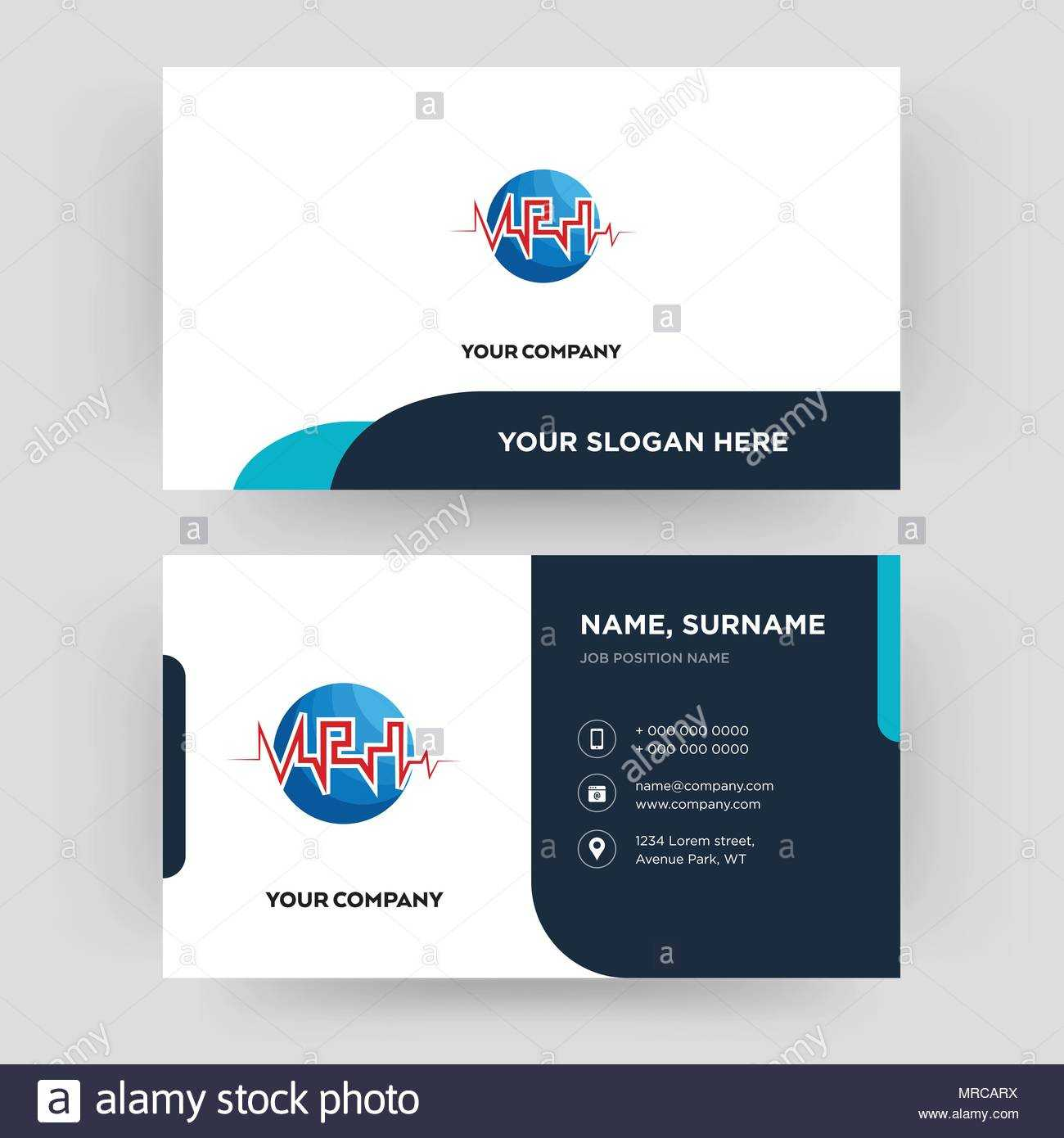 Med, Business Card Design Template, Visiting For Your With Med Card Template