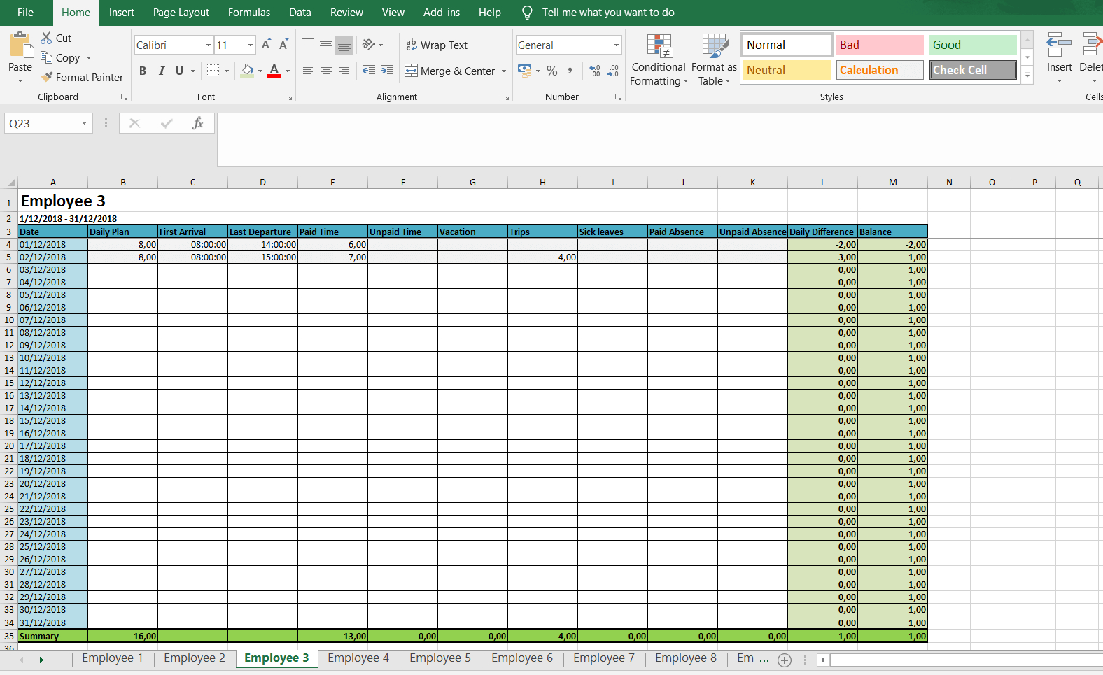 Monthly And Weekly Timesheets - Free Excel Timesheet For Weekly Time Card Template Free