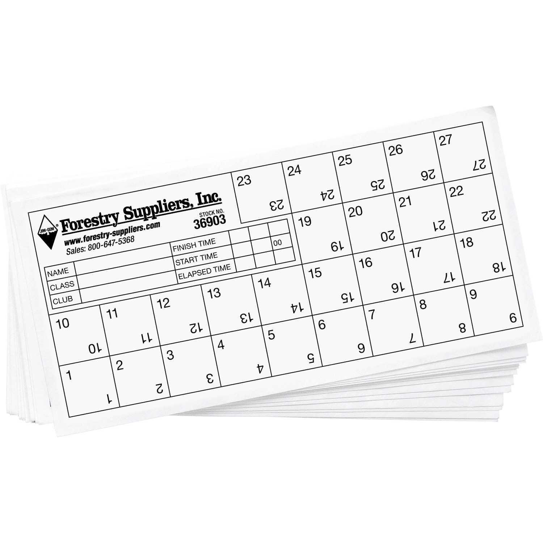 Orienteering Control Cards In Orienteering Control Card Template
