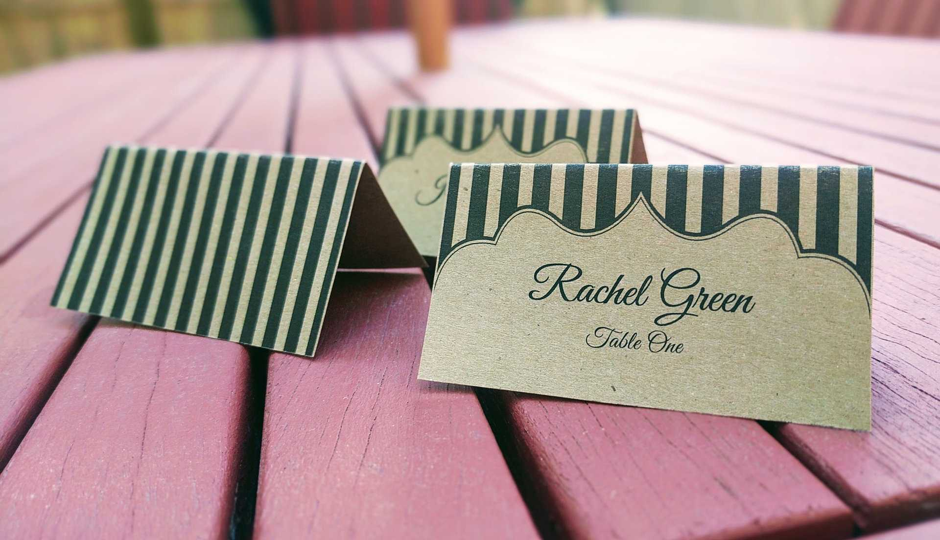 Our Printable Place Cards | Place Card Me Regarding Imprintable Place Cards Template