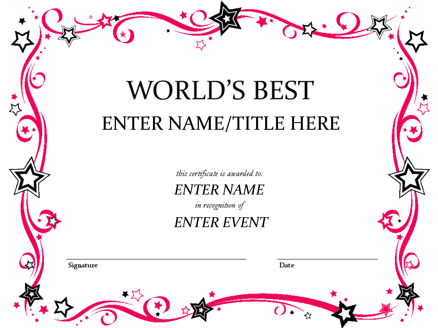Pages Certificate Templates - Invitation Templates - Clip For Certificate Template For Pages