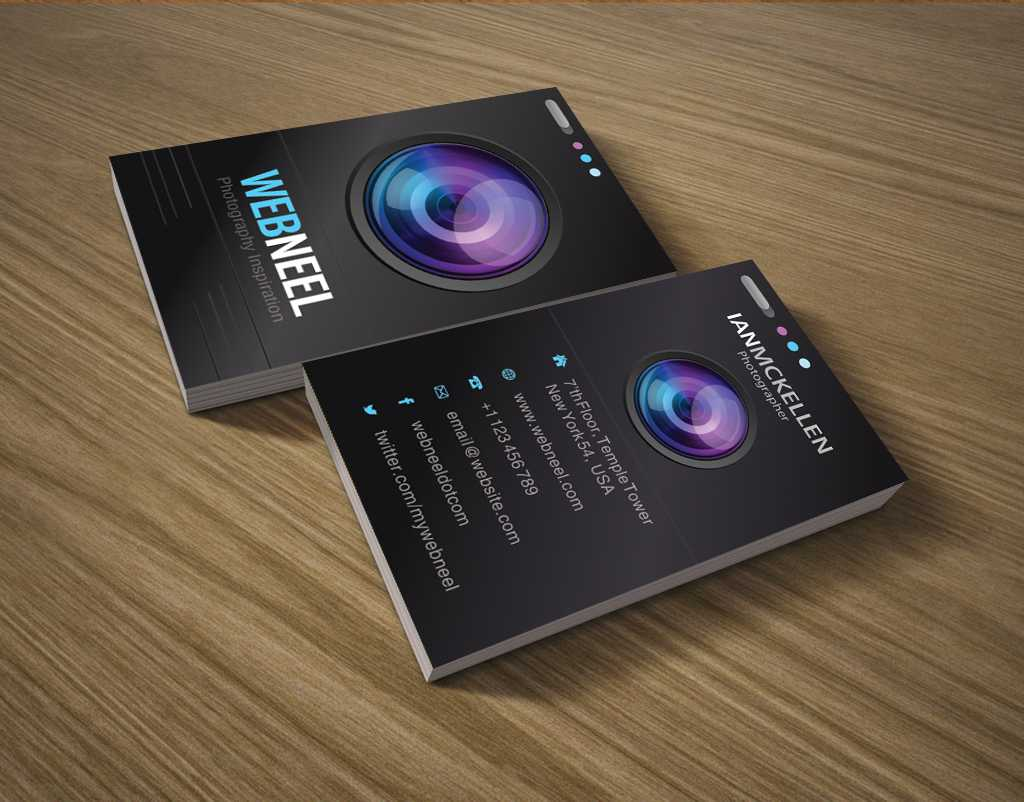 Photography Business Card Design Template 35 - Freedownload With Regard To Photography Business Card Templates Free Download