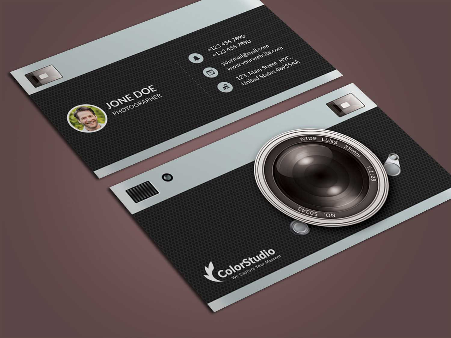 Photography Business Cards Psd Free Download - Karan.ald2014 Throughout Photography Business Card Templates Free Download