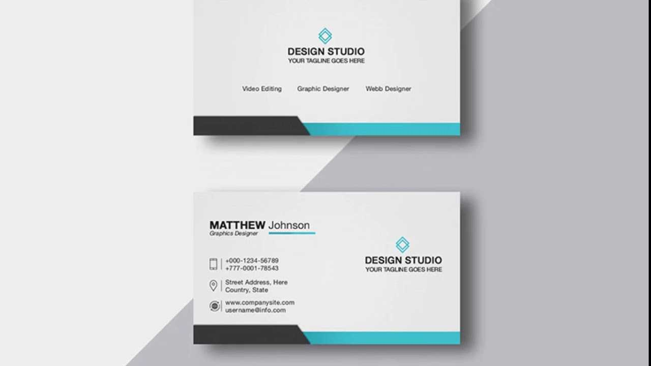 Photoshop Cs6 Free Download – Design Business Card Template With Regard To Photoshop Cs6 Business Card Template