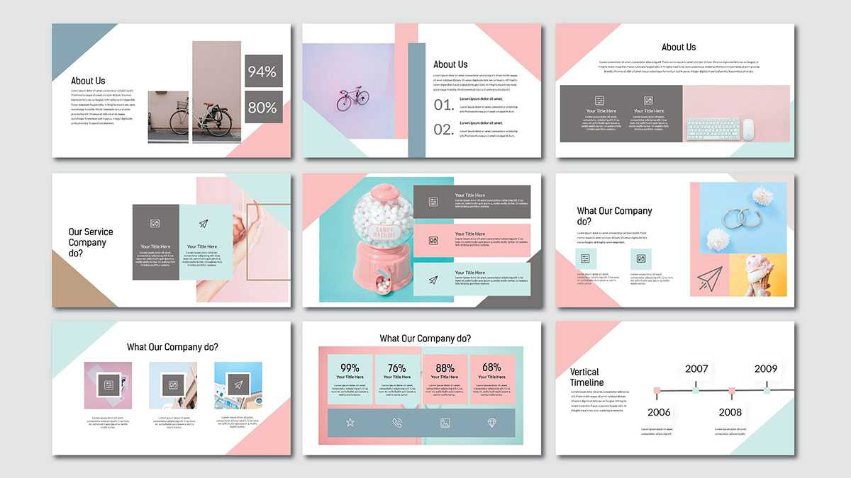 Pink Pastel Free Powerpoint Template Regarding Pretty Powerpoint Templates