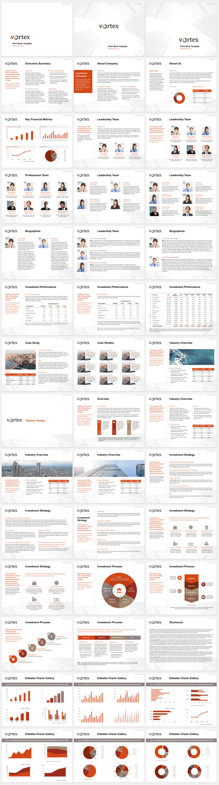 Pitch Book Template Example For Investment Banking Pitch In Powerpoint Pitch Book Template