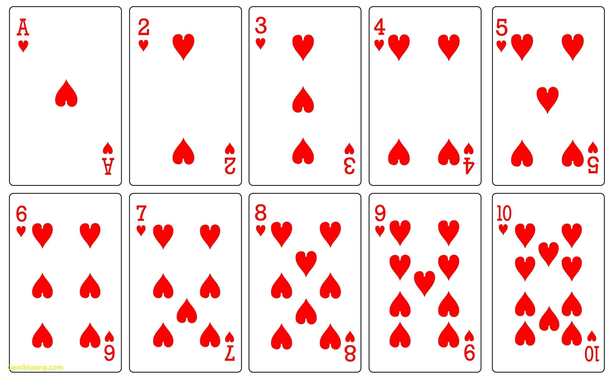 Playing Card Printable – Karan.ald2014 Intended For Template For Playing Cards Printable