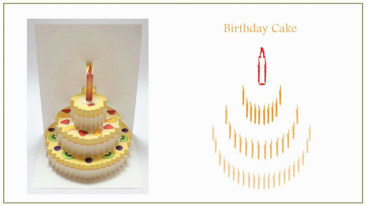 Pop Up Cards Ebook Vol. 3 (Origamic Architecture) Inside Happy Birthday Pop Up Card Free Template