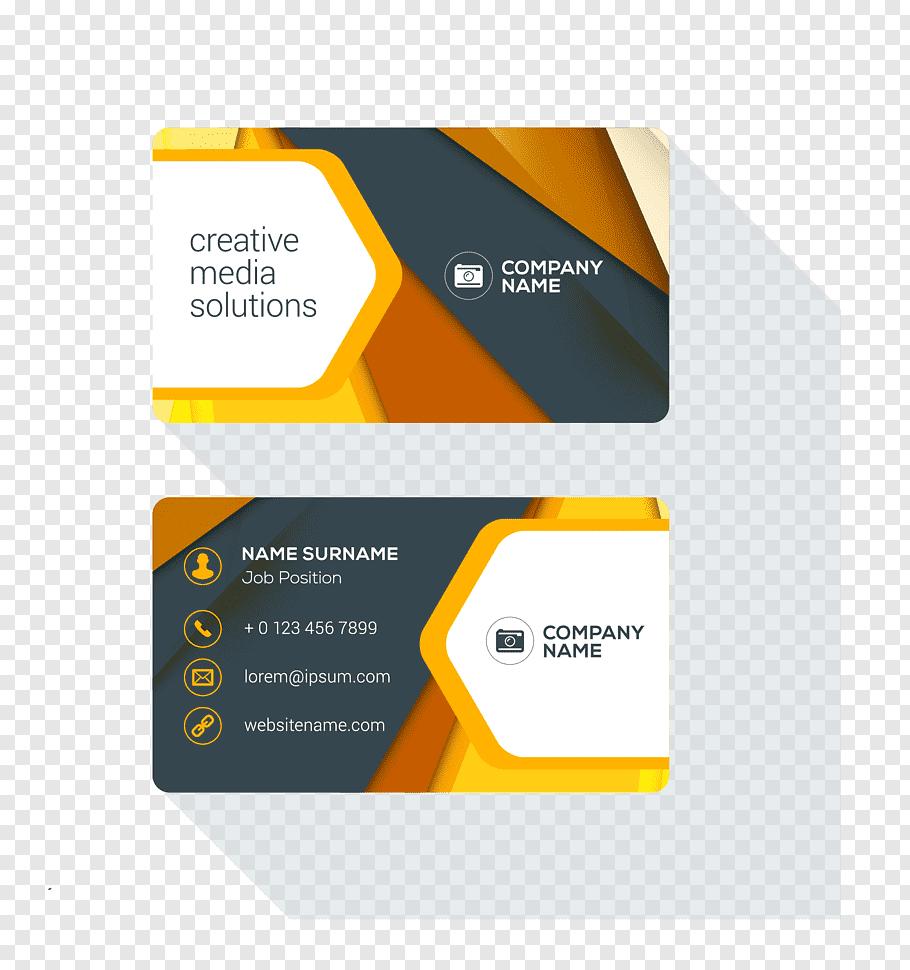 Powerpoint Template, Business Card Design Logo, Business With Business Card Template Powerpoint Free