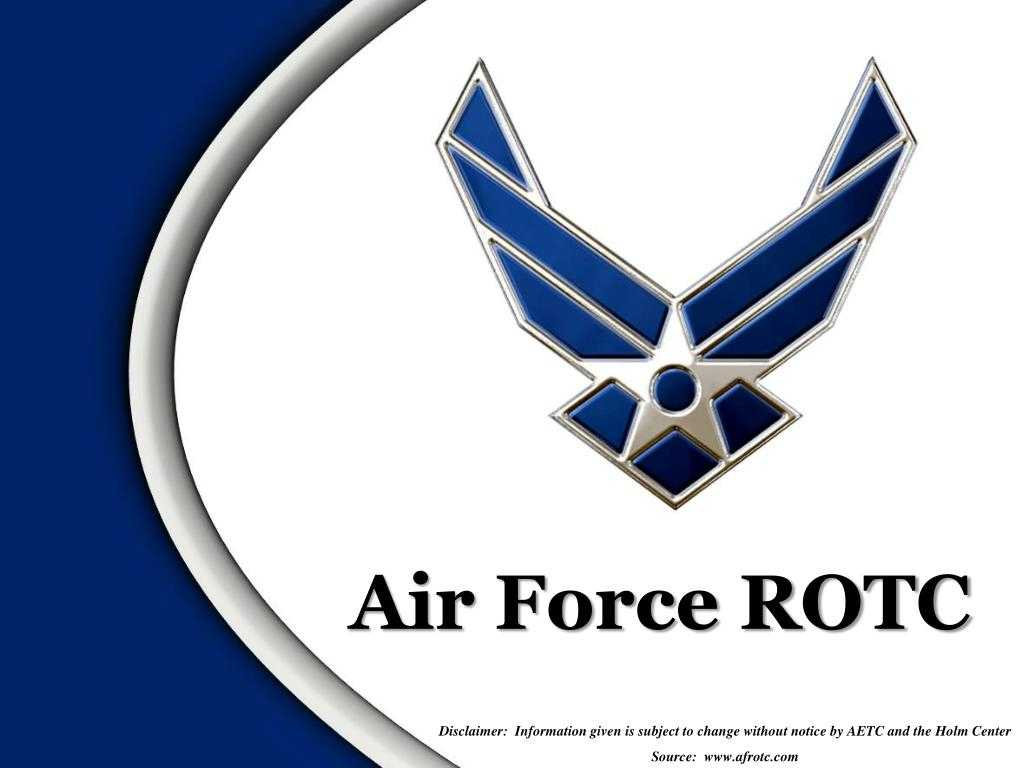 Ppt - Air Force Rotc Powerpoint Presentation, Free Download With Air Force Powerpoint Template
