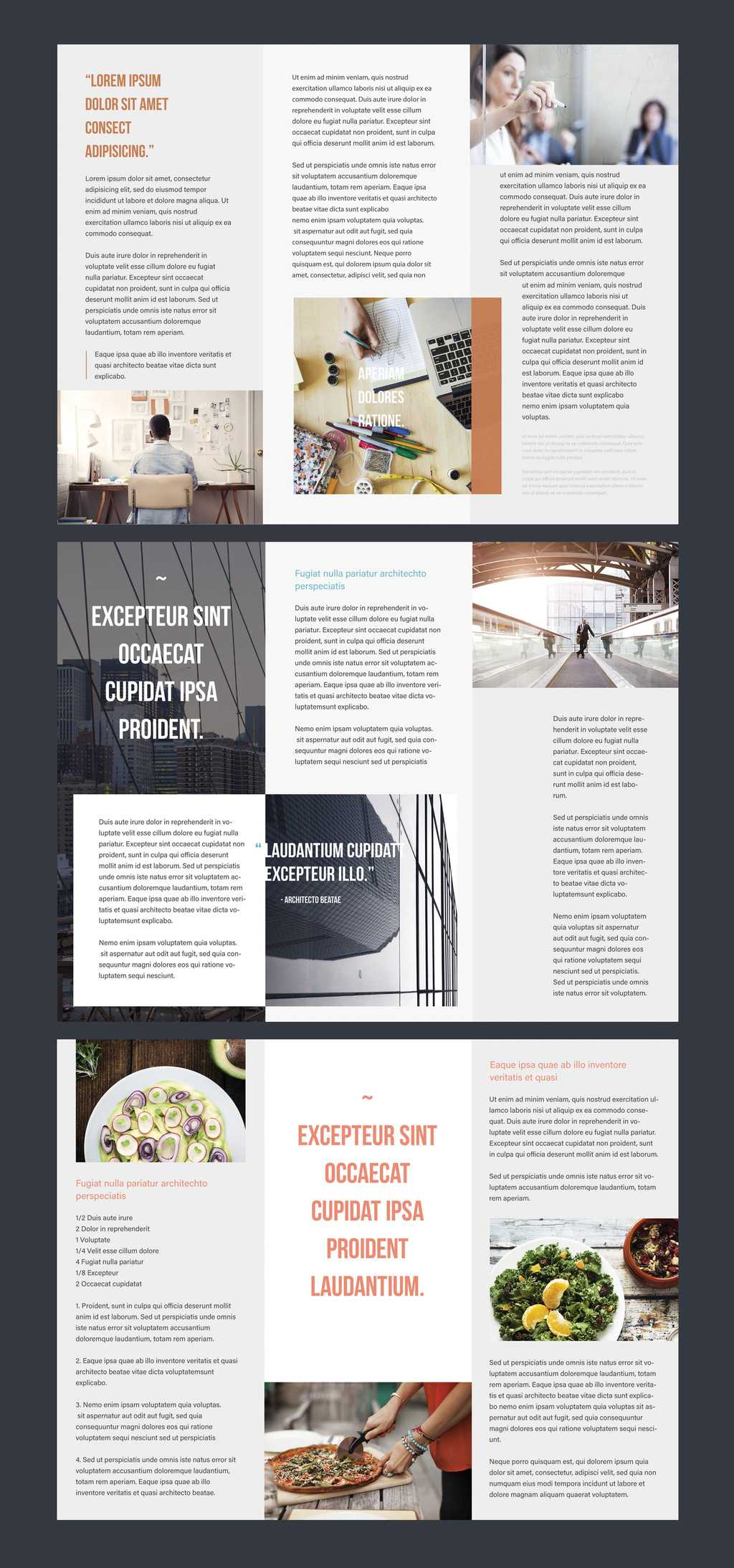 Professional Brochure Templates | Adobe Blog Intended For Adobe Tri Fold Brochure Template