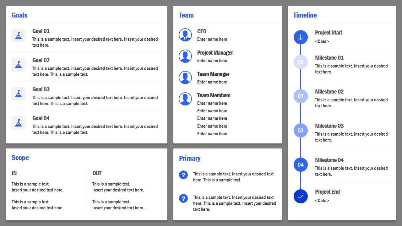 Project Charter Powerpoint Template Regarding Team Charter Template Powerpoint
