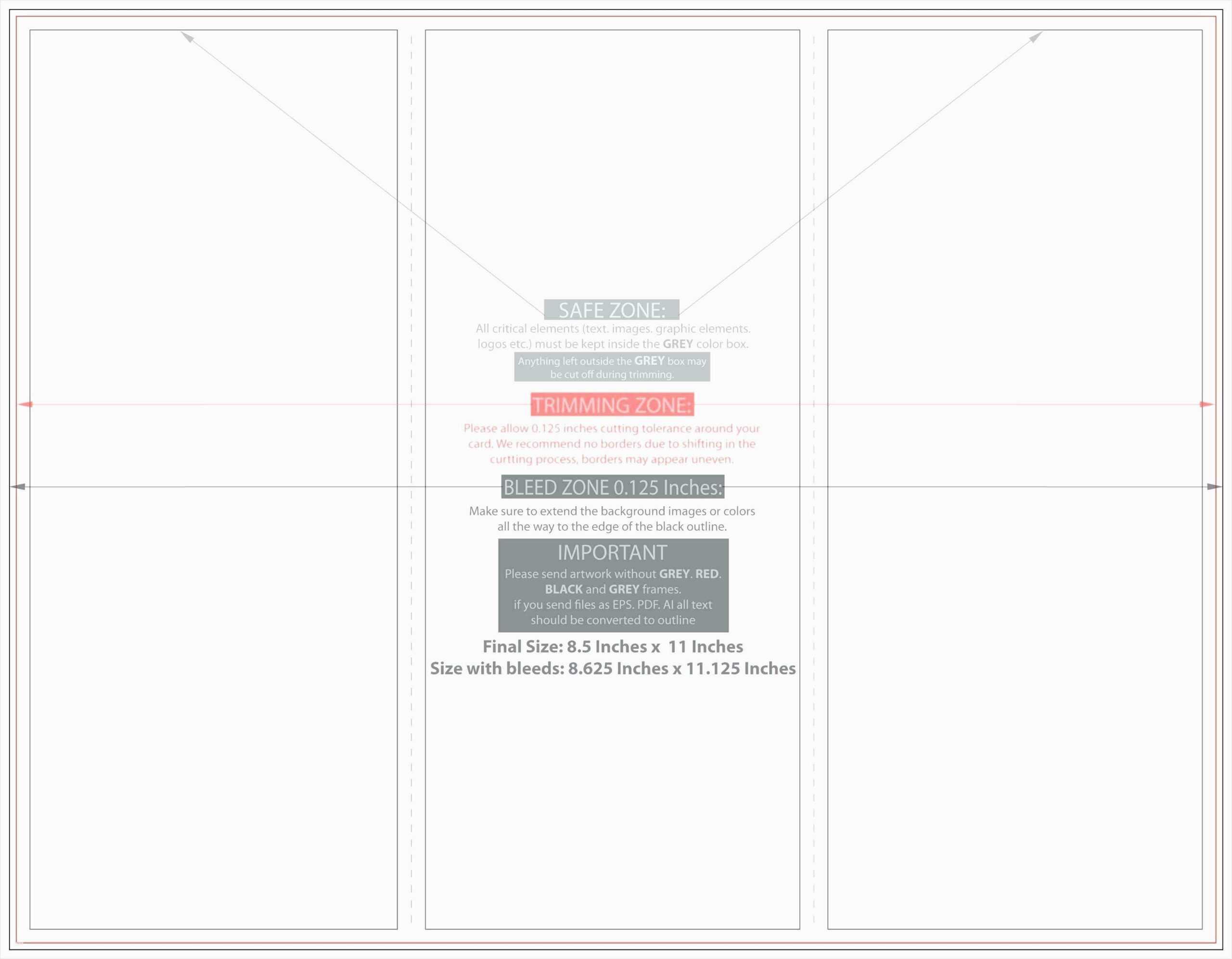 Quarter Fold Cards Template – Karan.ald2014 Within Quarter Fold Card Template