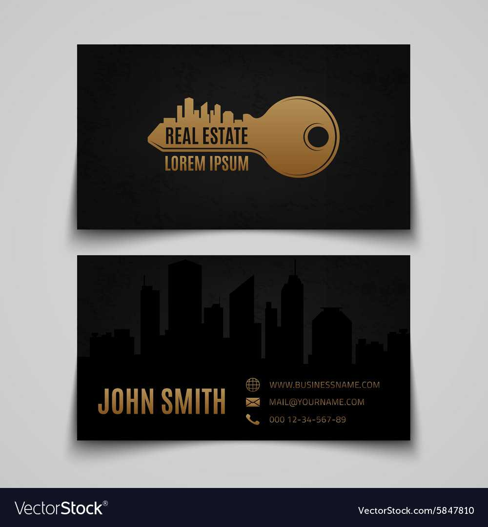 Real Estate Business Card Template Within Real Estate Business Cards Templates Free