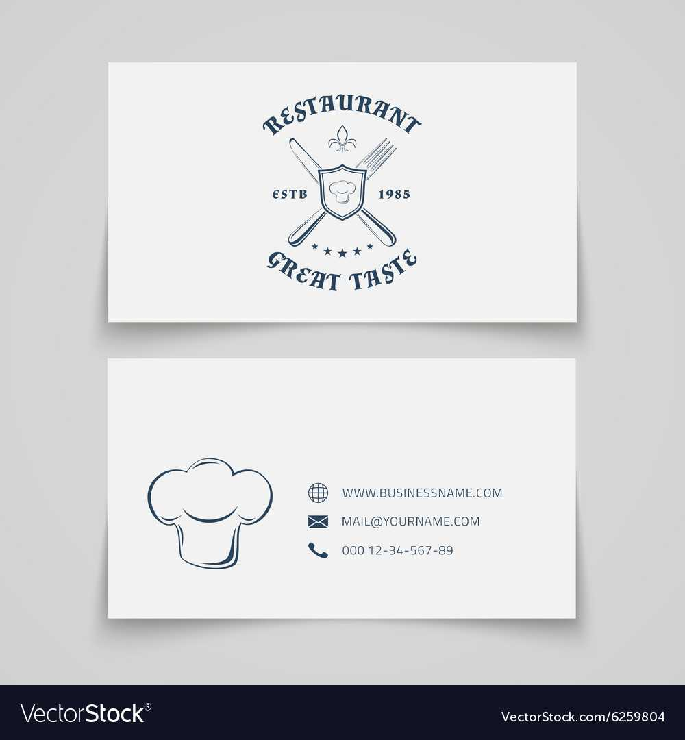 Restaurant Business Card Template In Frequent Diner Card Template
