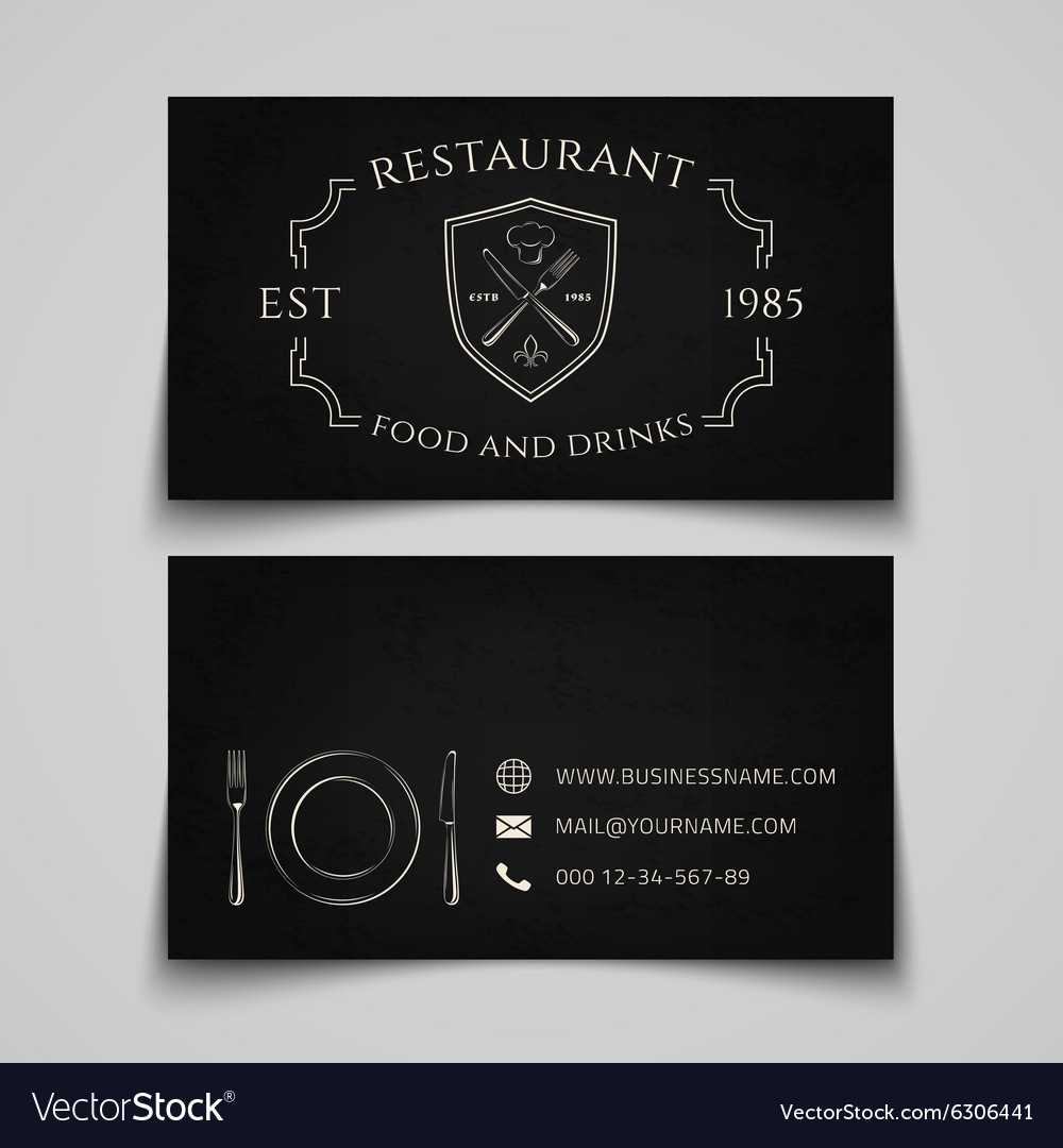 Restaurant Business Card Template Pertaining To Frequent Diner Card Template