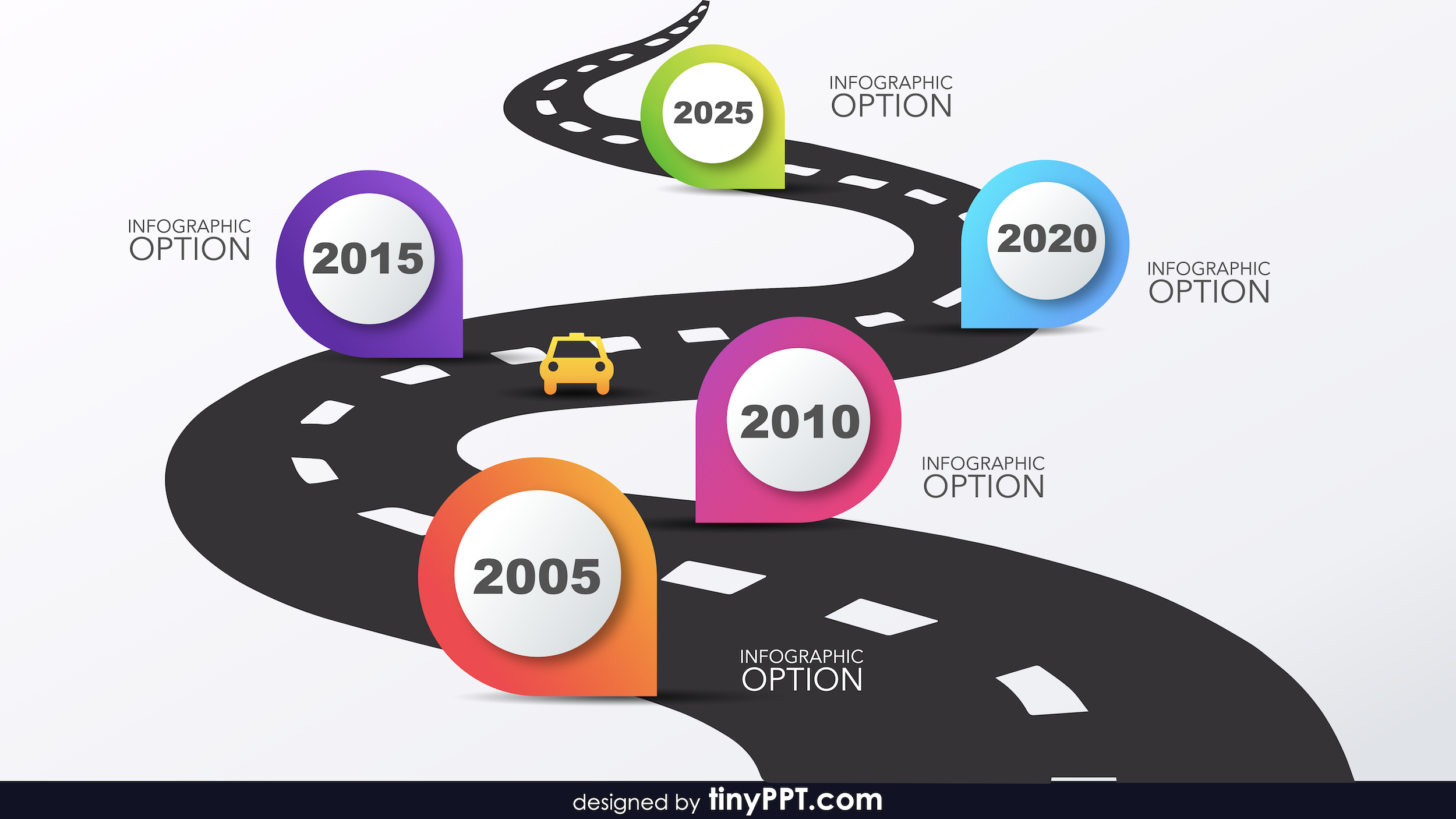 Roadmap Ppt Template With Powerpoint Animated Templates Free Download 2010