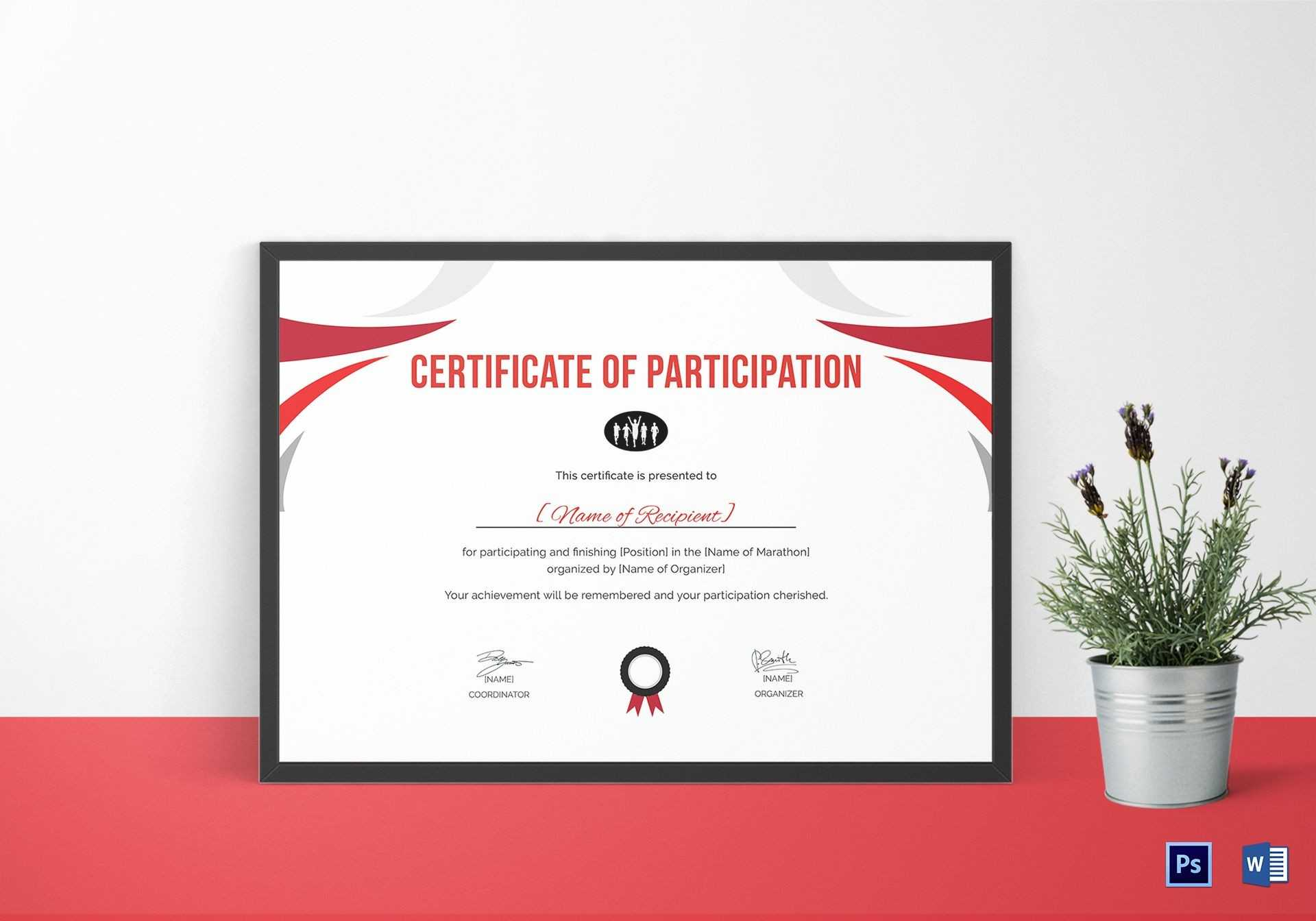 Running Certificate Template - Carlynstudio Intended For Running Certificates Templates Free