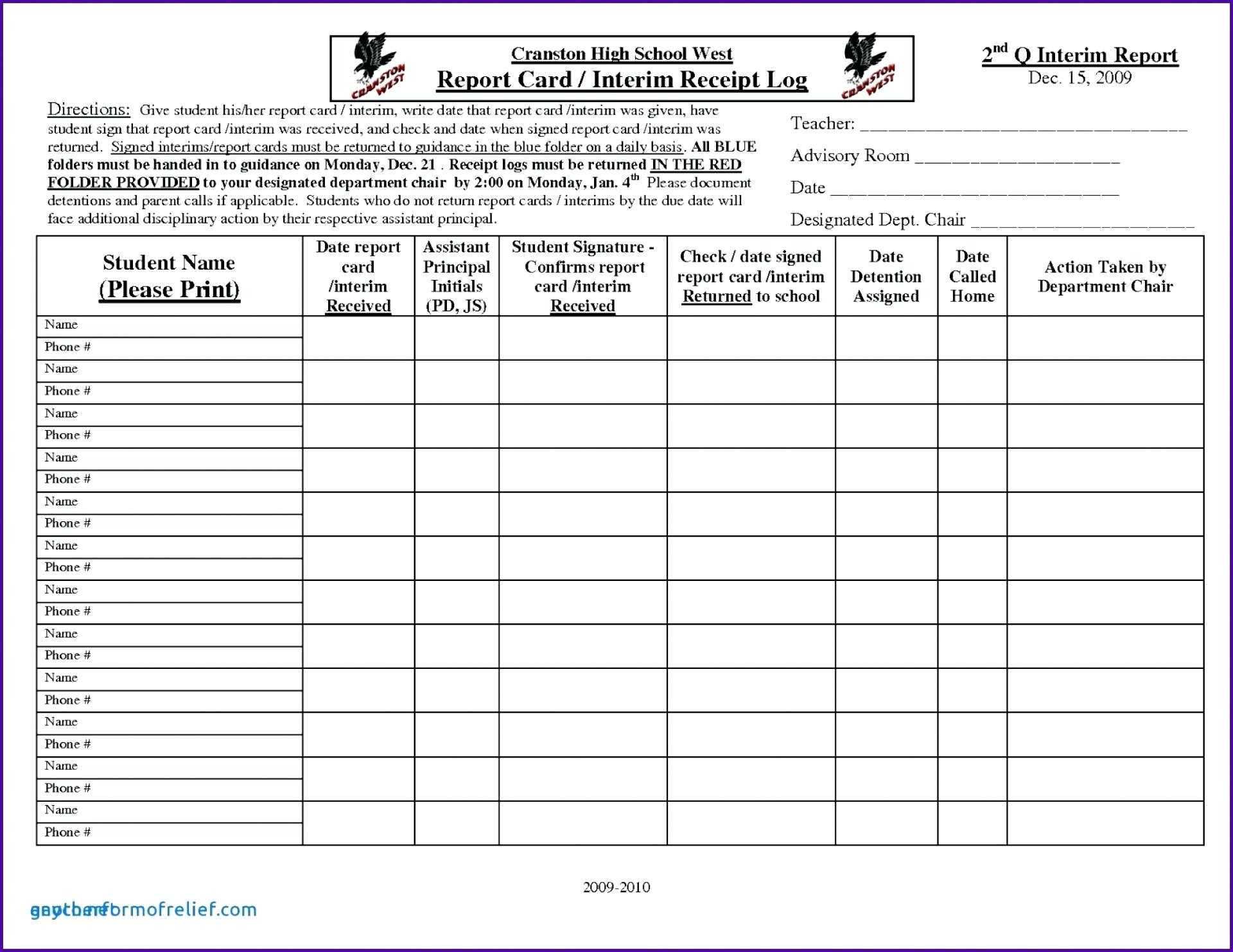 School Report Card Template Format Excel – Bestawnings In Boyfriend Report Card Template