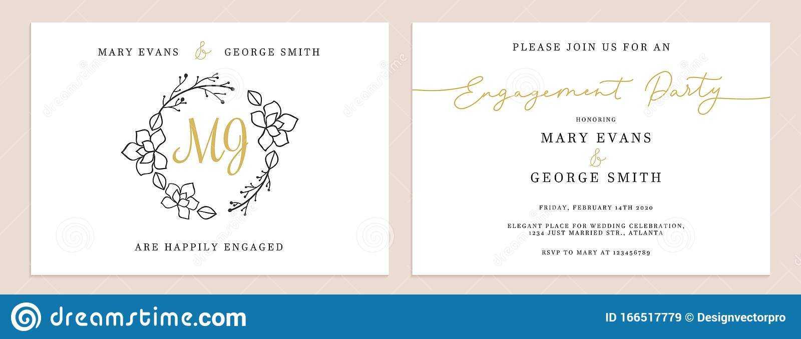 Set Of Wedding Invitation Cards Design Templates Stock Inside Celebrate It Templates Place Cards
