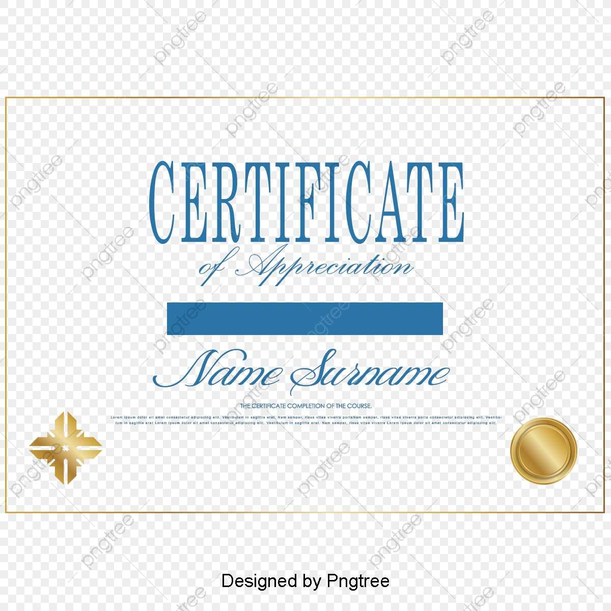 Simple Certificate Certificates Design Vector Material Intended For Update Certificates That Use Certificate Templates