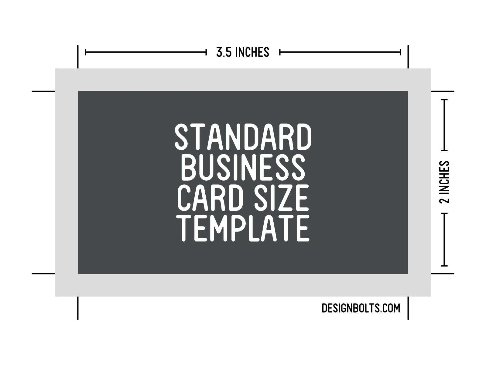 Size Of Business Card - Business Card Tips With Business Card Size Template Photoshop