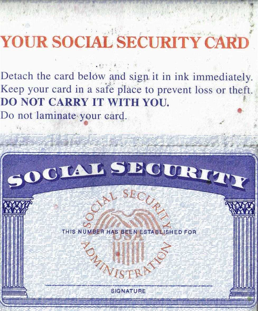 Social Security Card Template - Leaks - Nulled For Ssn Card Template