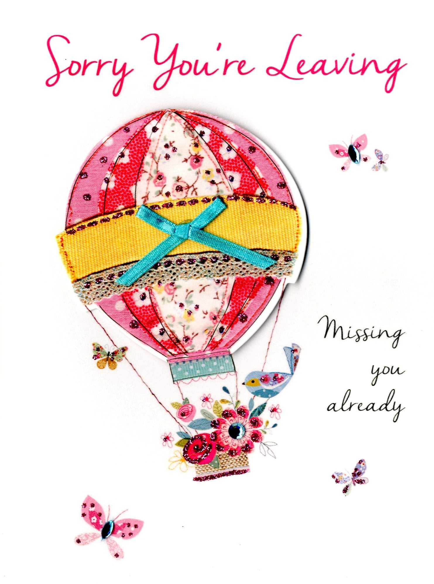 Sorry That You Are Leaving Wishes Within Sorry You Re Leaving Card Template