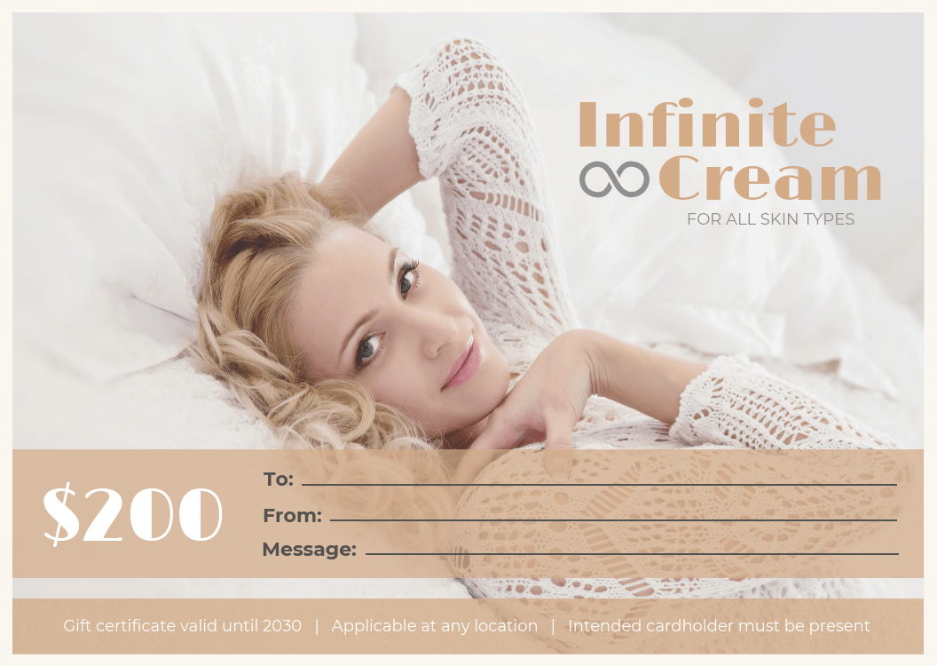 Spa Gift Certificate Template Throughout Spa Day Gift Certificate Template