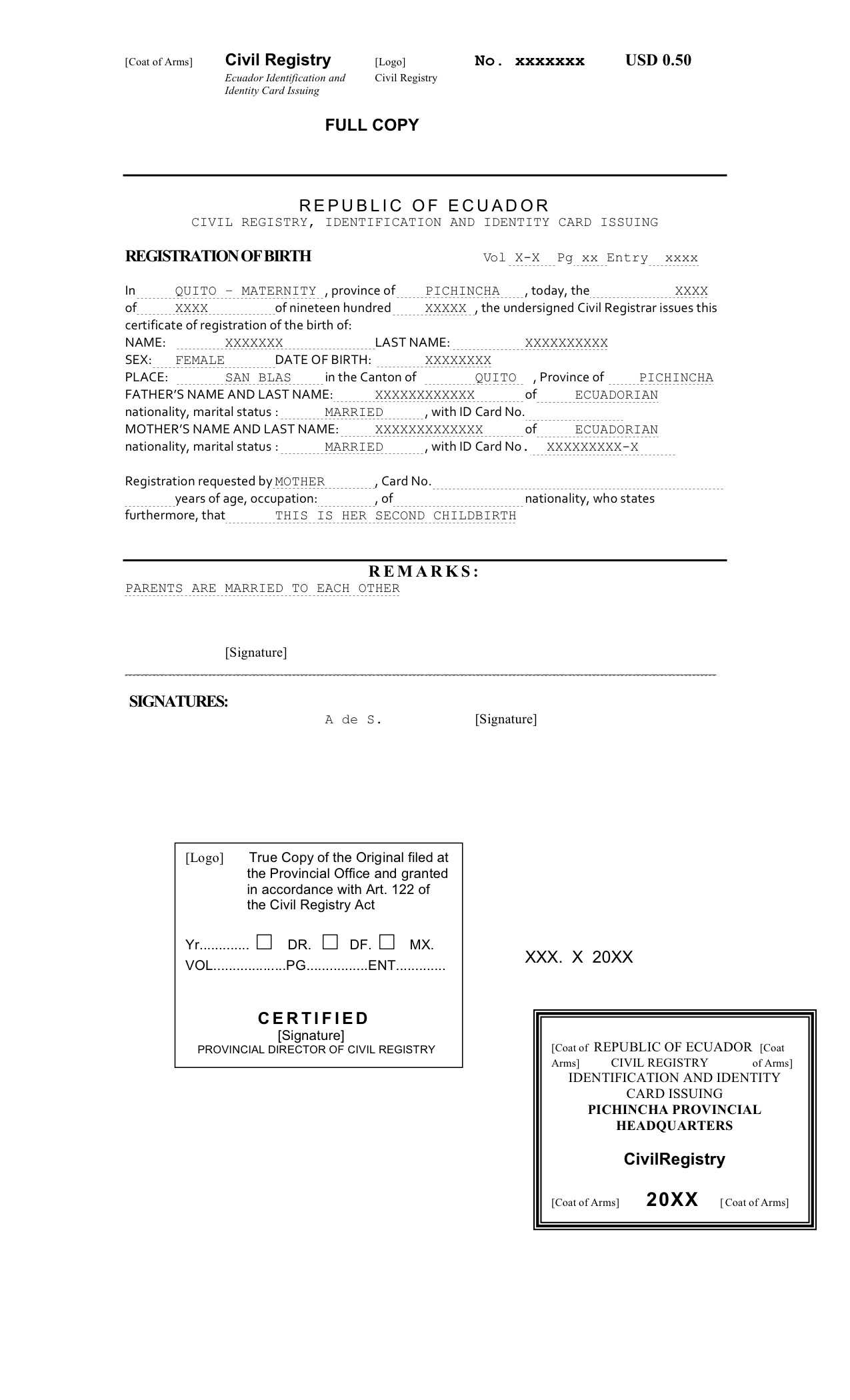 Spanish, Portuguese, German Translation - Legal And Business For Marriage Certificate Translation From Spanish To English Template