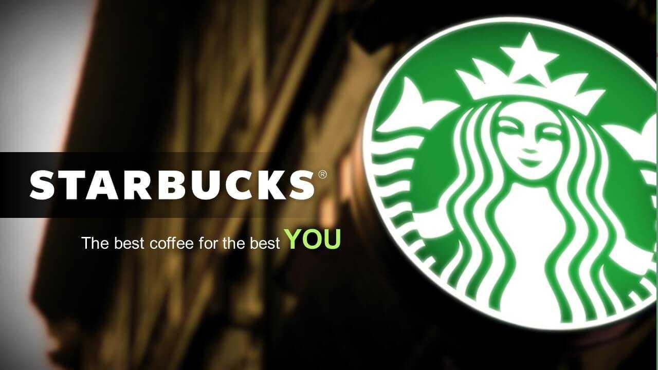 Starbucks - Powerpoint Designers - Presentation & Pitch Deck Throughout Starbucks Powerpoint Template