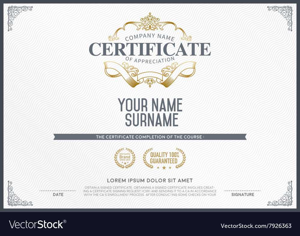 Stock Certificate Template Within Free Stock Certificate Template Download