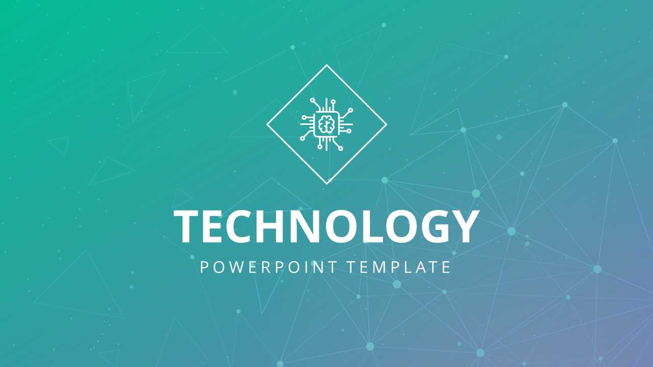 Technology Powerpoint Template Throughout Powerpoint Templates For Technology Presentations