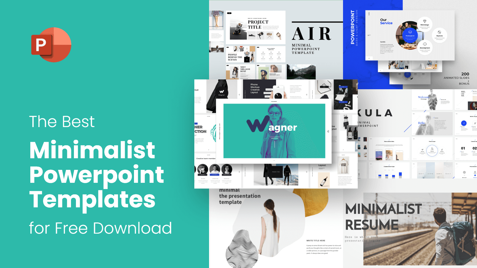 The Best Minimalist Powerpoint Templates For Free Download For Powerpoint Slides Design Templates For Free