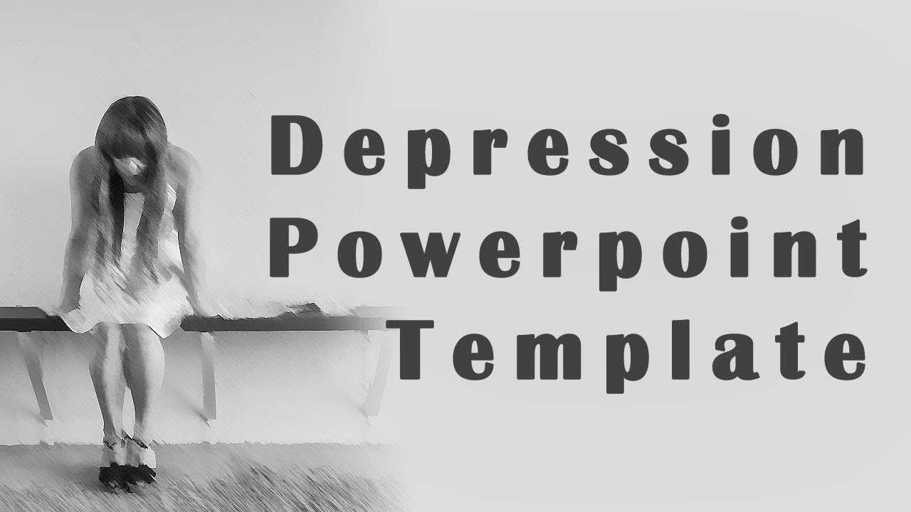 The Great Depression Powerpoint Template - Youtube Pertaining To Depression Powerpoint Template