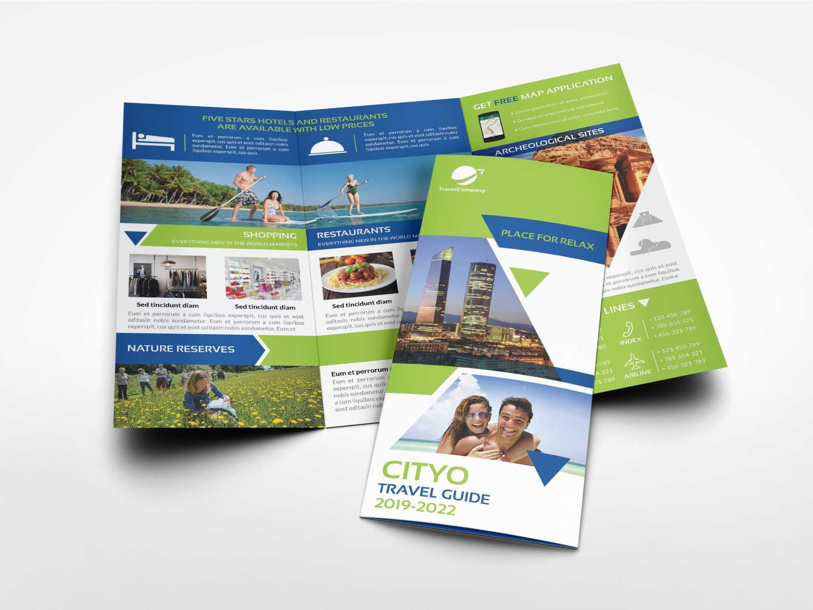 Travel Guide Tri Fold Brochure Templateowpictures On Within Travel Guide Brochure Template
